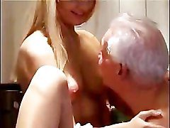 Teen Fucks The Grandpa Next Door