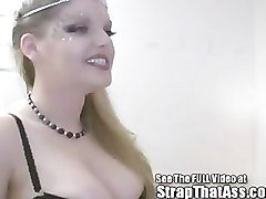 Freaky Goth Boy Chris Gets Pegged By the StrapOnPrincess