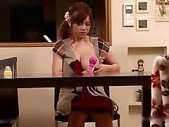 Rumi Yoshizawa-Breast feeding Wife J cup Clip5 by TOM