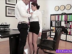 hot secretary valentina nappi gets pounded hard by the big black cock