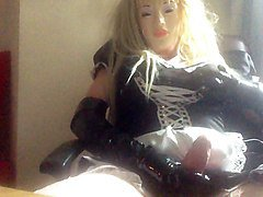 new latex gloves for maid