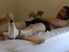 twink hogtied, gagged and tickled 3