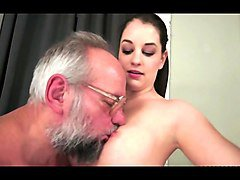 angelina grandpa dirty magic trick